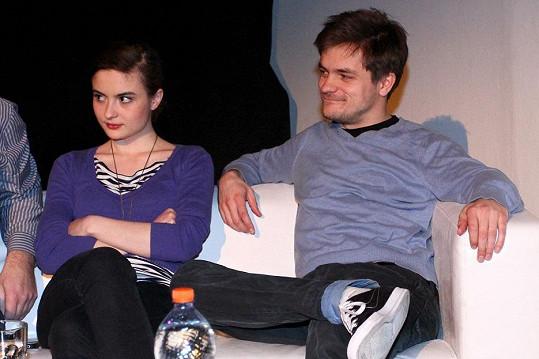 Eva Josefíková s Jirkou Mádlem spolu budou hrát ve filmu Vejška.