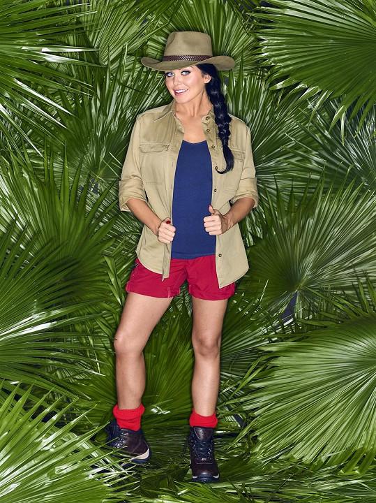 V době, kdy vyhrála jeden z ročníků reality show I´m Celebrity…Get Me Out of Here!, měla velikost 34.