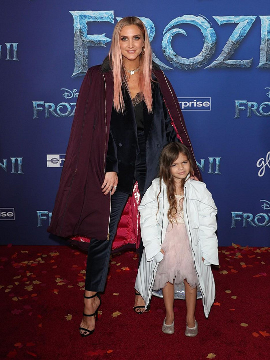 Ashlee Simpson s dcerkou Jagger Snow Ross