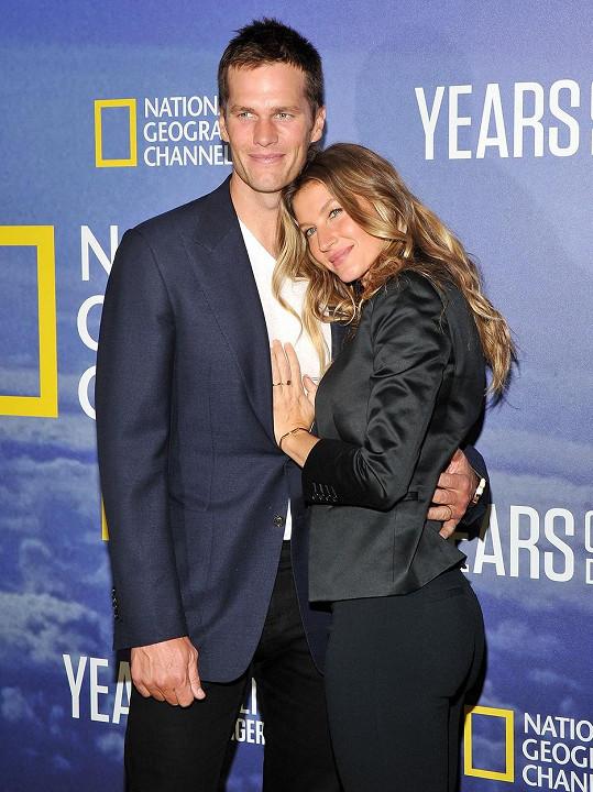Tom Brady a Gisele Bündchen tvoří už sedm let manželský pár.