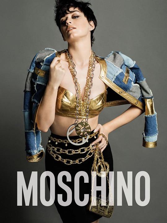 Katy Perry jako tvář kolekce na letošní podzim