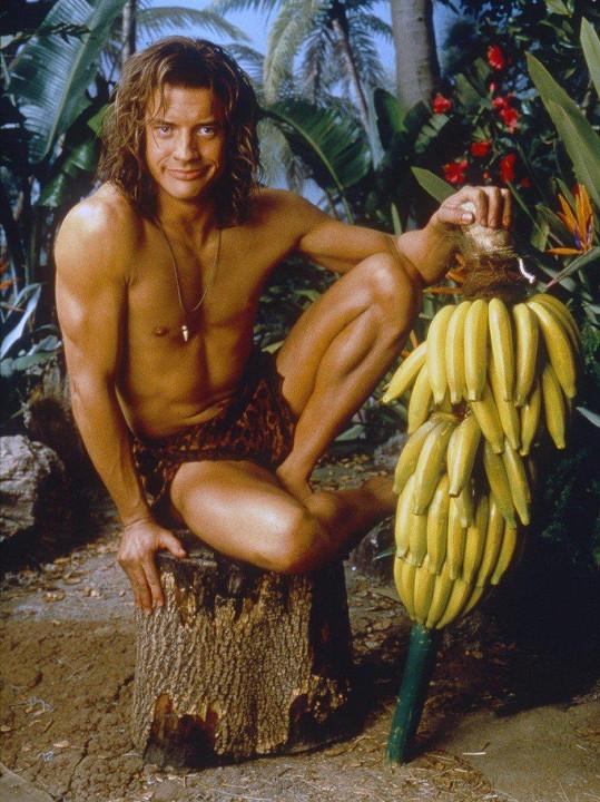 Brendan Fraser v Králi džungle.