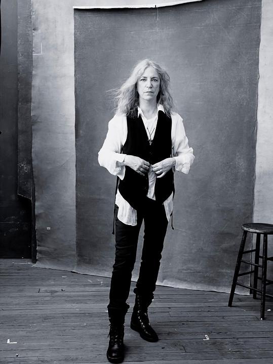 Součástí 43. ročníku kalendáře bude například i 68letá zpěvačka Patti Smith.