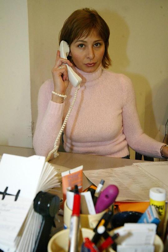 Ivana Gottová v době, kdy pracovala jako produkční.