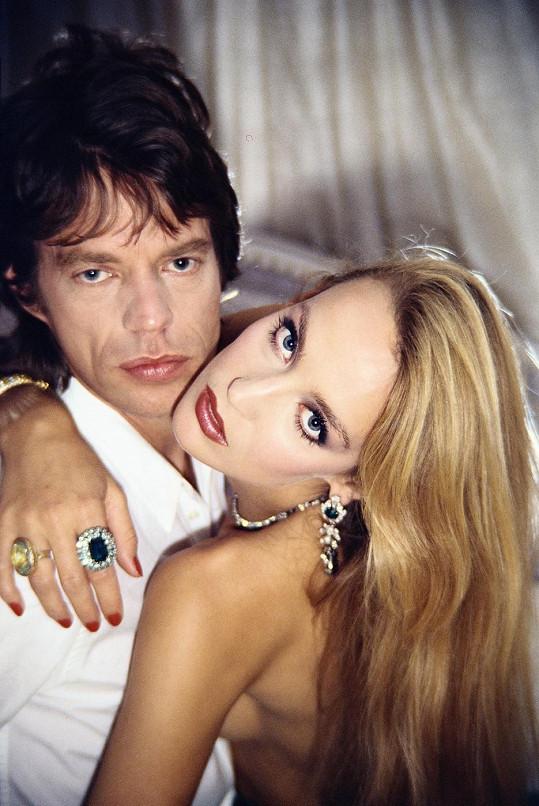 S bývalým manželem Mickem Jaggerem