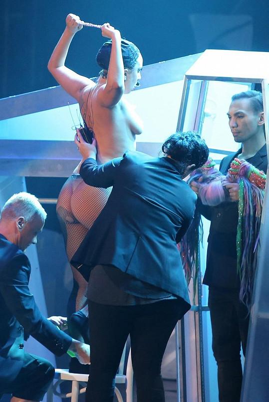 Lady Gaga ostychem netrpí.