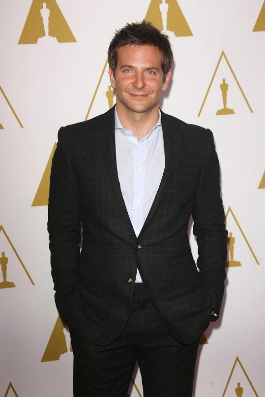 Bradley Cooper patří k nejatraktivnějším hollywoodským hercům.