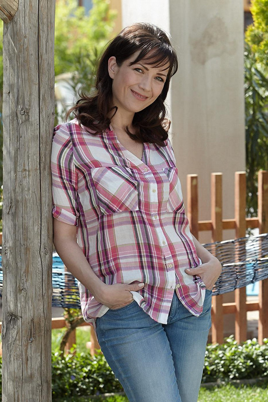 Tereza Kostková si zahraje v novém seriálu Vinaři.