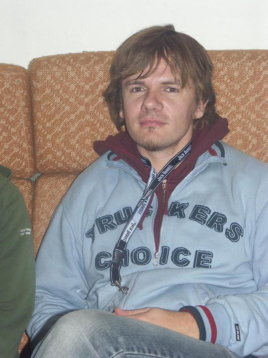 Michal Hrůza v roce 2004