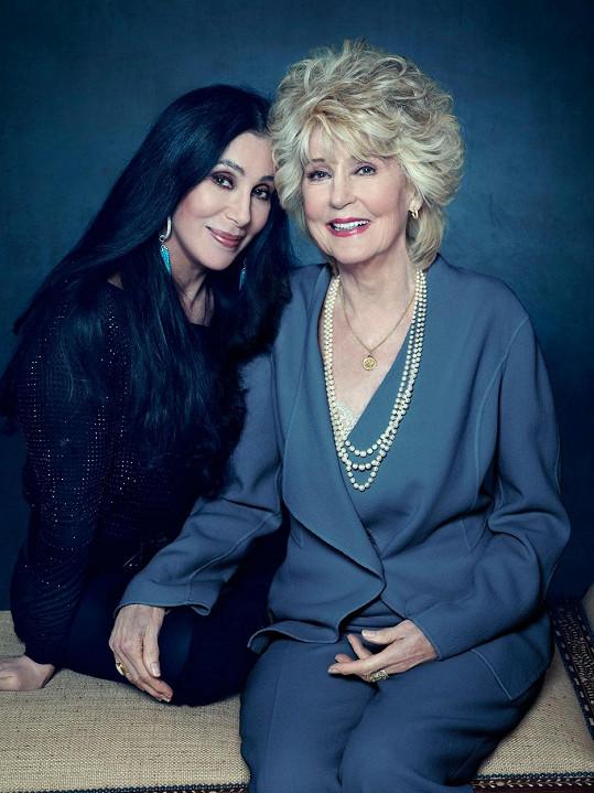 Cher s maminkou Georgií Holt