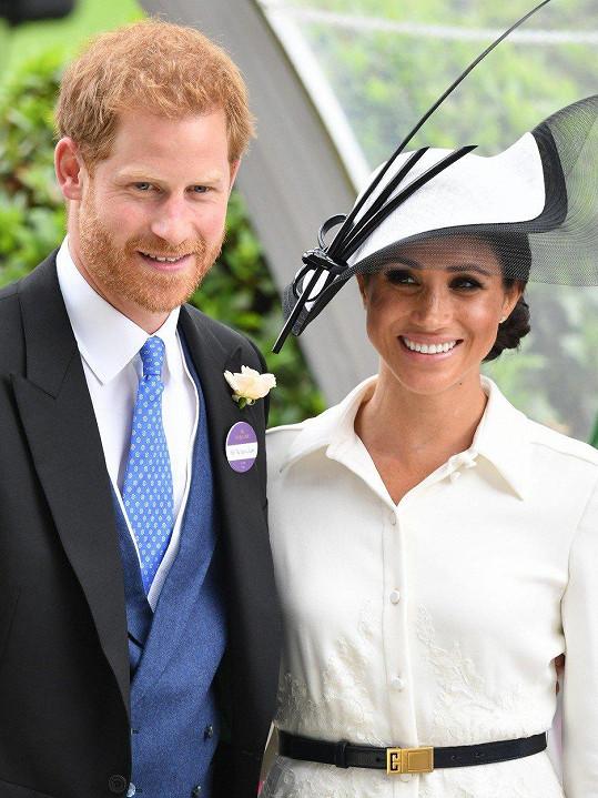 S princem Harrym jsou krásný pár.