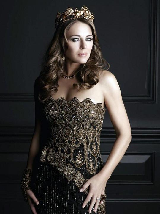 Elizabeth Hurley jako královna Helena