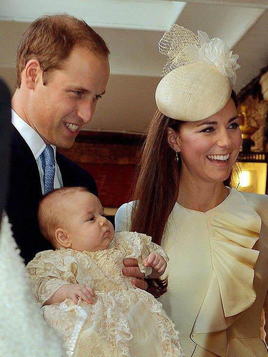 Princ William a vévodkyně Kate se letos stali potřetí rodiči. Princ Louis je roztomilost sama.