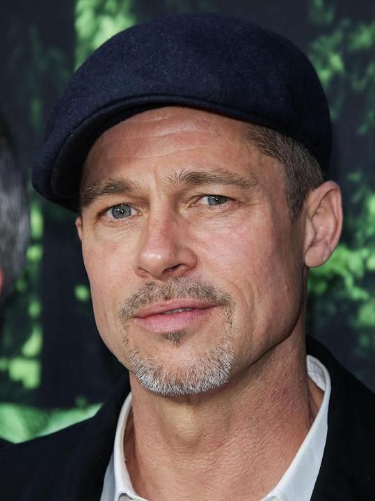 Brad Pitt v roce 2016. To už byli od sebe.