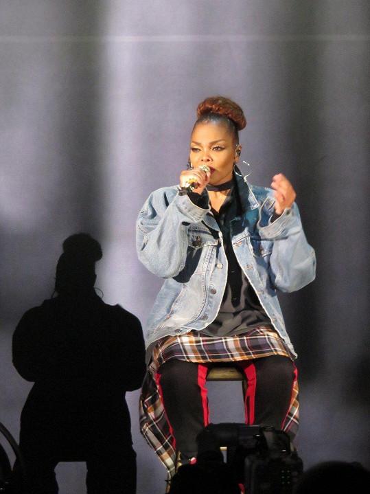 Janet Jackson vystoupila v Hollywood Bowl aréně v Los Angeles
