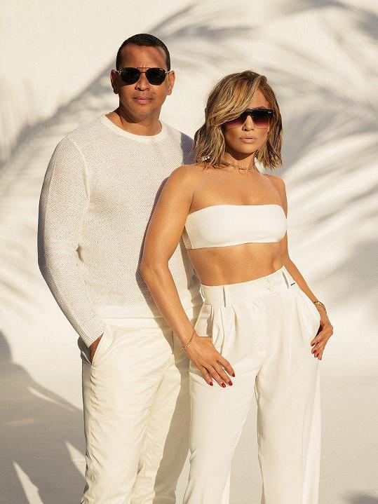 Jennifer Lopez a Alex Rodriguez jsou velice sladěným párem, nejen v reklamě.