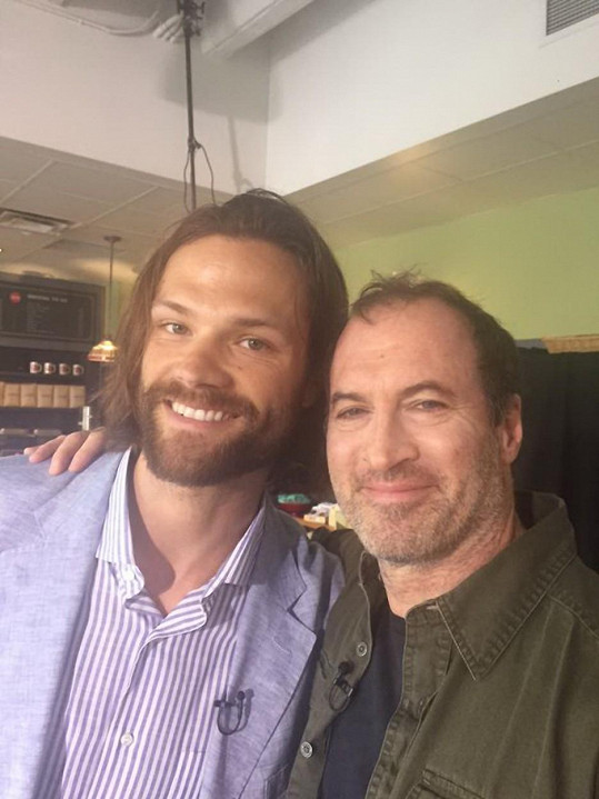 Scott Patterson (Luke) a Jared Padalecki (Dean)
