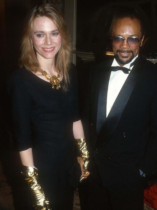 Hudebník a producent Quincy Jones byl jejím manželem šestnáct let, mají spolu dvě dcery.