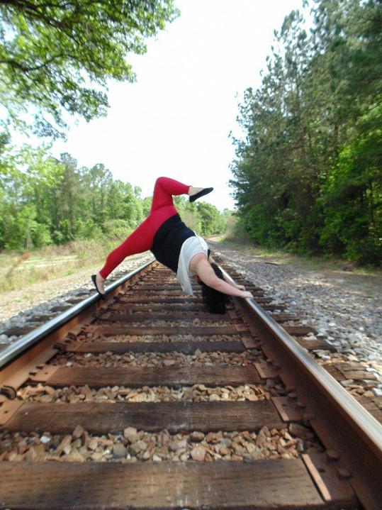S jógou začala v roce 2014.