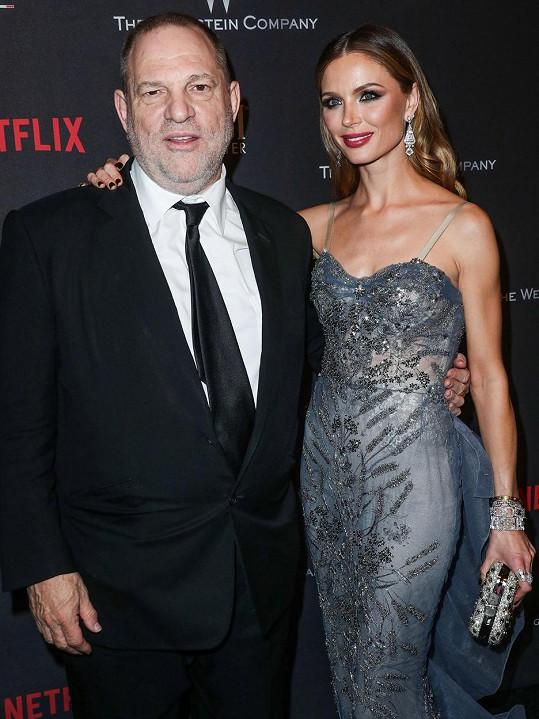 Chapman je bývalou manželkou producenta Harveyho Weinsteina.