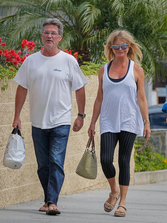 Goldie Hawn a Kurt Russell spolu žijí už od roku 1983.