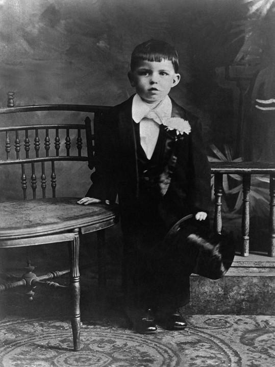 Tříletý Frank Sinatra