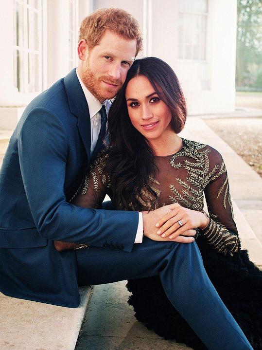 Harry a Meghan vstoupí 19. května do manželství.