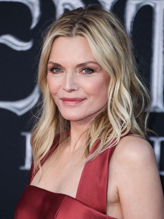 Michelle Pfeiffer v dubnu oslavila 61. narozeniny.