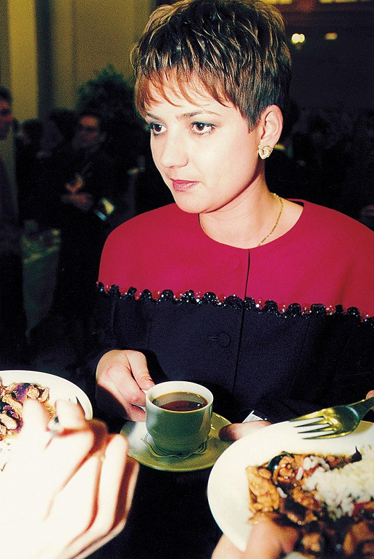 Jolana Voldánová na snímku z roku 1996.