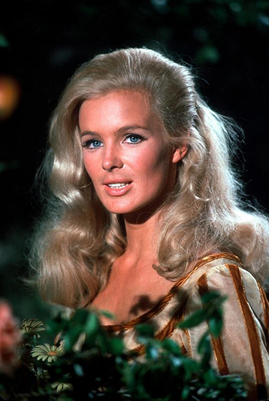 Takhle vypadala Linda v seriálu Big Valley (1965).