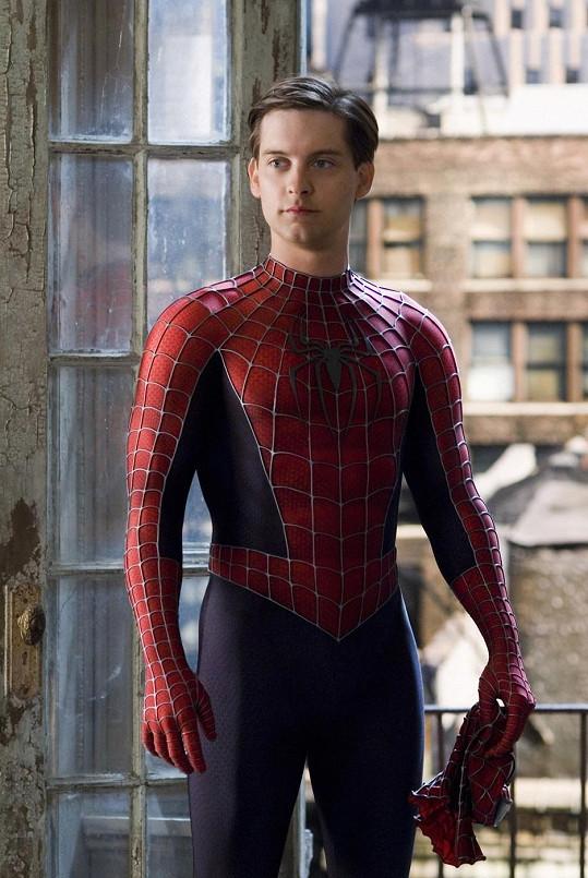 Tobey Maguire jako Spiderman
