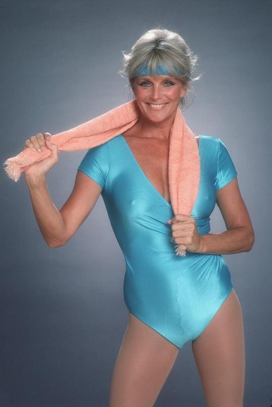 V osmdesátých letech propagovala zdravý životní styl a ukazovala bradavky.