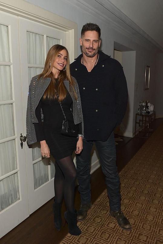 Sofia a Joe tvoří krásný pár.