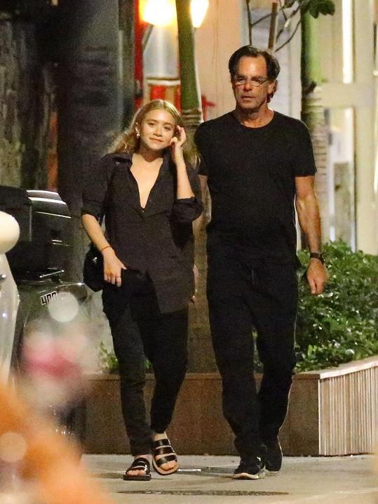 Ashley Olsen a Richard Sachs na St. Barts