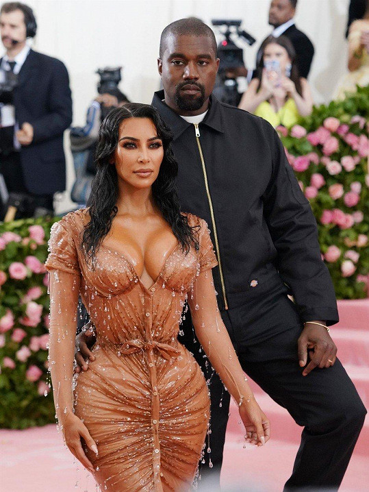 Kanye West s manželkou Kim Kardashian