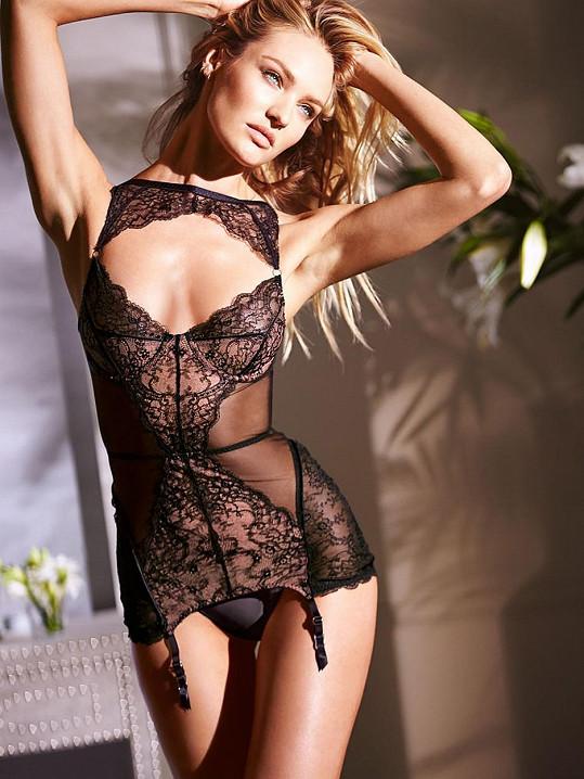 Candice Swanepoel září v další kolekci spodního prádla.