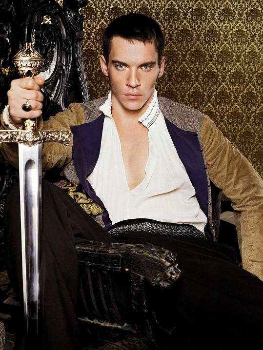 Jonathan Rhys Meyers v seriálu Tudorovci