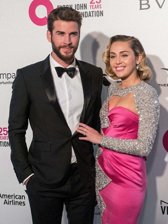 Miley a Liam se rozešli po sedmi měsících manželství.
