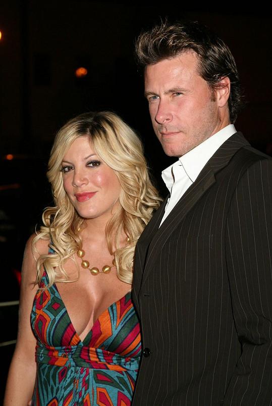 Tori Spelling s manželem Deanem McDermottem