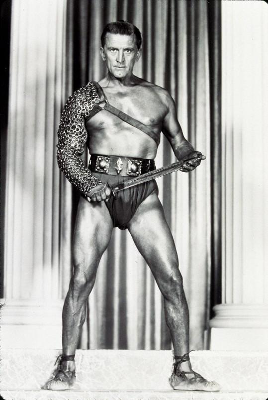Kirk Douglas jako Spartakus (1960)