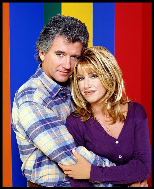 Suzanne Somers a Patrick Duffy v seriálu Krok za krokem
