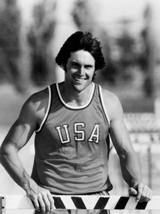 Bruce v době, kdy byl olympionikem