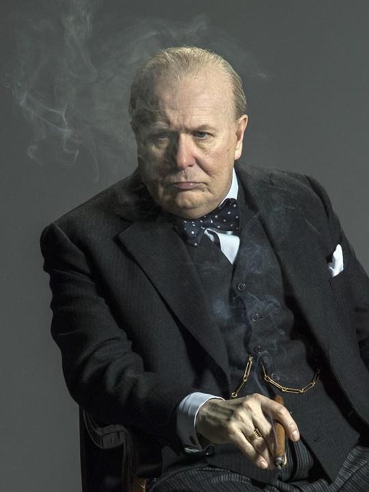 Za roli Winstona Churchilla v Nejtemnější hodině získal Oscara.