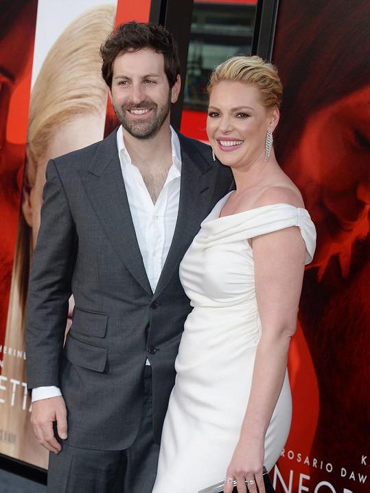 Katherine Heigl s manželem Joshem Kelleym