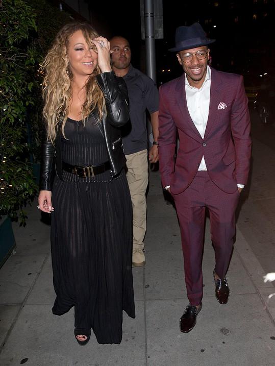 Mariah s exmanželem Nickem Cannonem