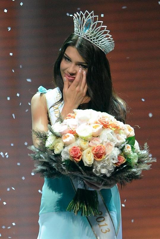 Karolína Chomisteková byla zvolena novou Miss Slovensko 2013.