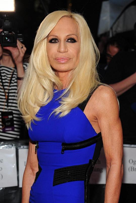 Donatella na snímku z roku 2010