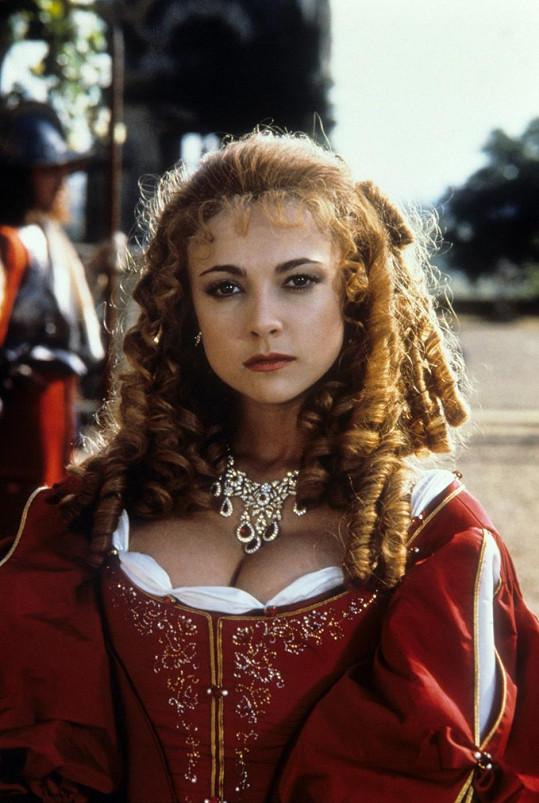 Hlavní roli ve filmu hrála Emma málokdy. Tady je ve snímku Dáma a lupič (1989).