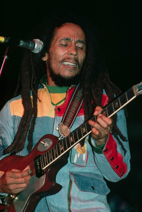 Otec Ziggyho Bob Marley.