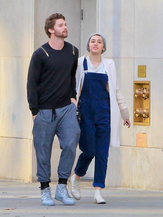 Miley ulovila Patricka Schwarzeneggera.